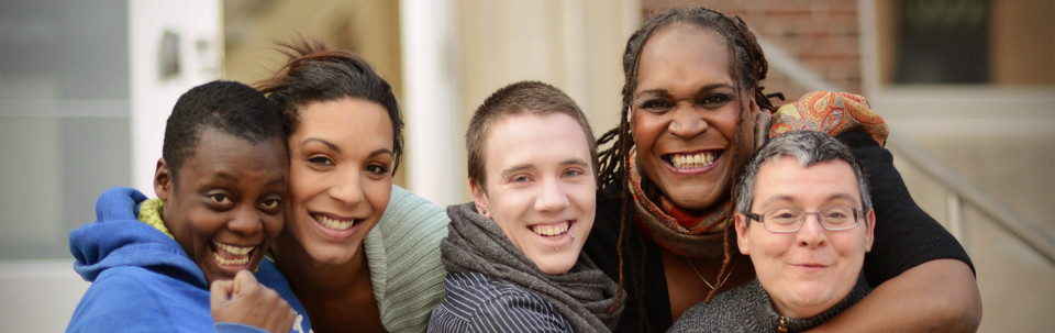 Photo of Trans students and staff from the Trans Awareness Project photo project
